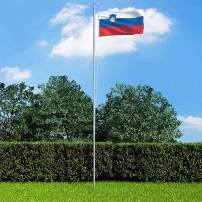 Emaga vidaxl flaga słowenii, 90x150 cm