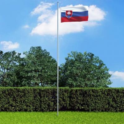 Emaga vidaxl flaga słowacji, 90x150 cm