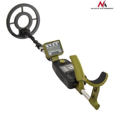 Emaga wykrywacz metali z dyskryminatorem maclean energy mce972 - green