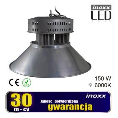 Emaga lampa przemysłowa led 150w high bay cob 6000k zimna 13 500lm