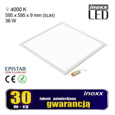 Emaga panel led 60x60 36w lampa sufitowa kaseton 4000k neutralny