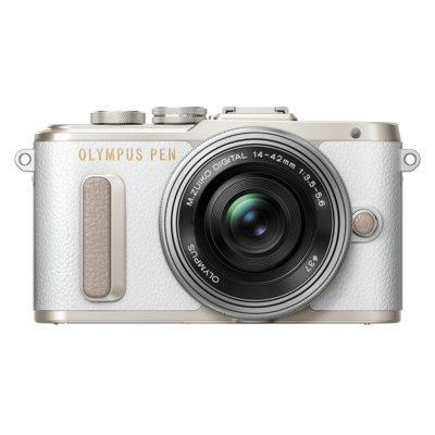Produkt z outletu: Aparat OLYMPUS PEN E-PL8 + 14-42IImm Kit Biały