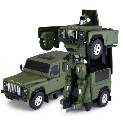 Emaga land rover transformer 1:14 2.4ghz rtr (akumulator, ładowarka usb) - zielony