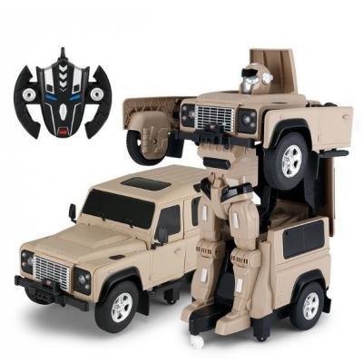 Emaga land rover transformer 1:14 2.4ghz rtr (akumulator, ładowarka usb) - żółty