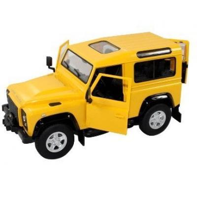 Emaga land rover defender 1:14 rtr (zasilanie na baterie aa) - żółty
