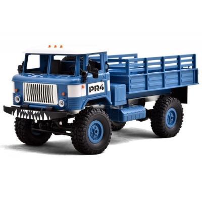 Emaga ciężarówka wojskowa wpl b-24 (1:16, 4x4, 2.4g, lipo) - niebieski