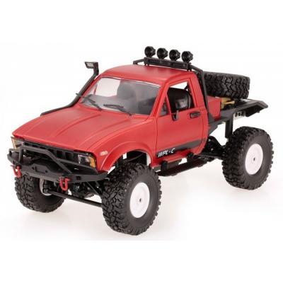 Emaga samochód off-road wpl c-14 (1:16, 4x4, 2.4g, lipo) - czerwony
