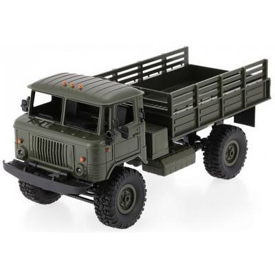 Emaga ciężarówka wojskowa wpl b-24 (1:16, 4x4, 2.4g, lipo) - zielony