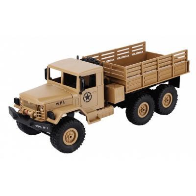 Emaga ciężarówka wojskowa wpl b-16 (1:16, 6x6, 2.4g, lipo) - żółty