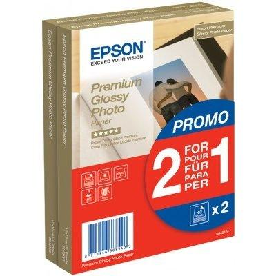 Papier EPSON Premium Glossy Photo Paper 10 x 15 cm 40 ark. 255g