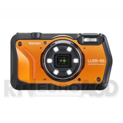 Ricoh WG-6 (pomarańczowy) + akumulator + pasek