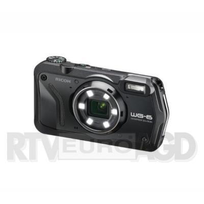 Ricoh WG-6 (czarny) + akumulator + pasek
