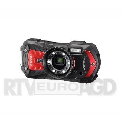 Ricoh WG-60 (czerwony) + pasek + akumulator