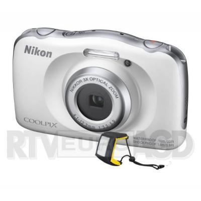 Nikon COOLPIX W150 (biały) z paskiem nietonącym
