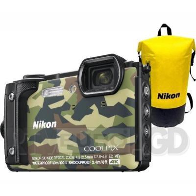 Nikon Coolpix W300 + plecak (moro)