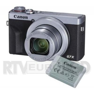 Canon PowerShot G7 X Mark III (srebrny) Battery Kit