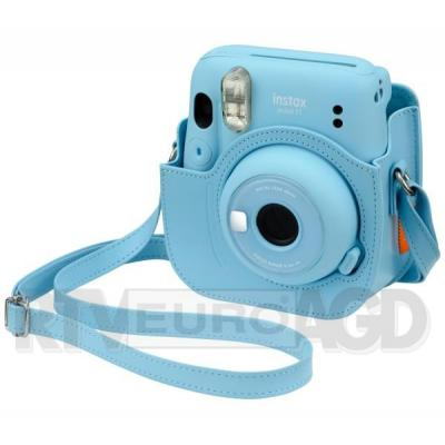 Fujifilm Instax Mini 11 (niebieski) + wkład 10 szt + etui
