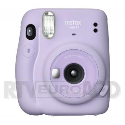 Fujifilm Instax Mini 11 (purpurowy) + wkład 10 szt + etui