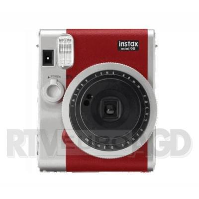 Fujifilm Instax Mini 90 (czerwony) + etui + wkład + album