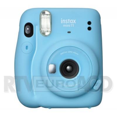 Fujifilm Instax Mini 11 (niebieski) + wkład 10 szt