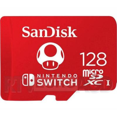 SanDisk Nintendo 128 GB 100/90 MB/s V30 U3