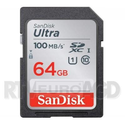 SanDisk ULTRA SDXC 64GB 100MB/s