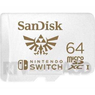 SanDisk Nintendo 64 GB 100/60 MB/s V30 U3