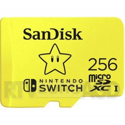 SanDisk Nintendo 256 GB 100/90 MB/s V30 U3