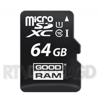 GoodRam microSDXC Class 10 64GB + adapter