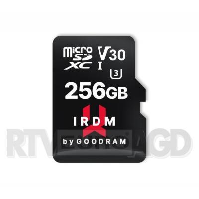 GoodRam IRDM microSD 256GB UHS I U3 100/70MB/s V30