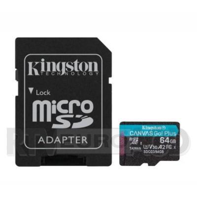 Kingston microSD Canvas Go Plus 64GB 170/70MB/S U3 V30