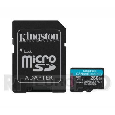 Kingston microSD Canvas Go Plus 256GB 170/90MB/S U3 V30