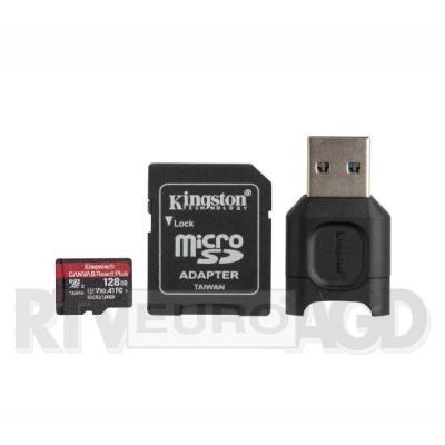Kingston microSD 128GB Canvas React Plus 285/165 U3 V30