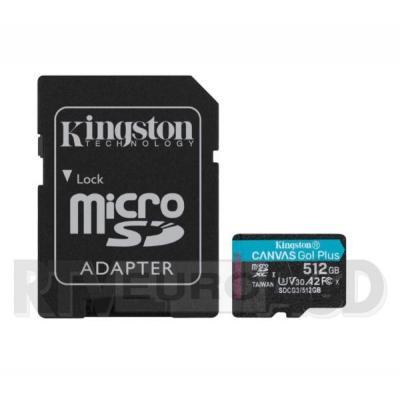 Kingston microSD Canvas Go Plus 512GB 170/90MB/S U3 V30