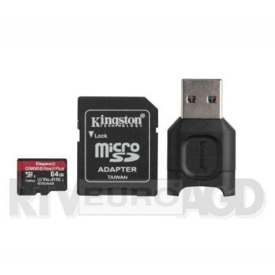 Kingston microSD 64GB Canvas React Plus 285/165 U3 V30