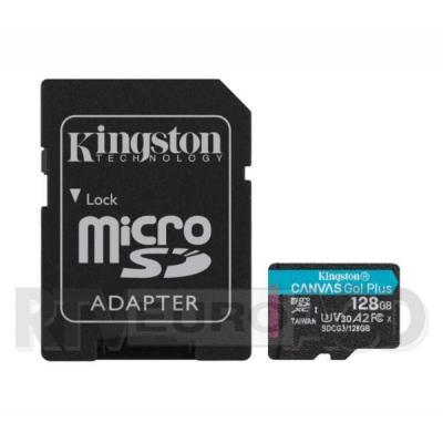 Kingston microSD 128GB Canvas Go Plus 170/90MB/S U3 V30