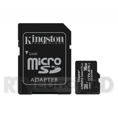 Kingston microSD Canvas Select 16GB 100/30MB/s