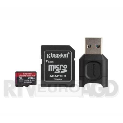 Kingston microSD 256GB Canvas React Plus 285/165 U3 V30