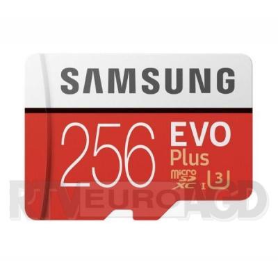 Samsung microSDXC EVO Plus 256 GB UHS-I U3
