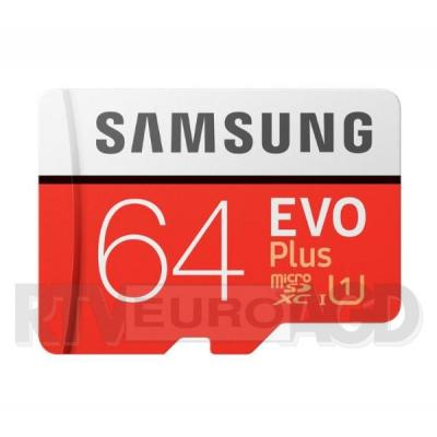 Samsung microSDXC EVO Plus 64 GB UHS-I