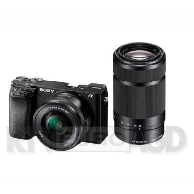 Sony A6100 + E PZ 16-50mm f/3,5-5,6 OSS + E 55-210 mm F4,5-6,3 OSS