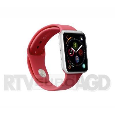 SBS pasek do Apple Watch 44mm M (czerwony)