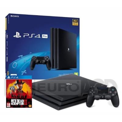 Sony PlayStation 4 Pro 1TB + Red Dead Redemption II