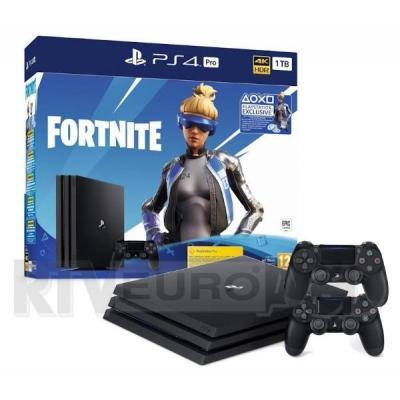 Sony PlayStation 4 Pro 1TB Fortnite Neo Versa Bundle + 2 pady