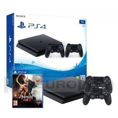Sony PlayStation 4 Slim 1TB + 2 pady + NiOh 2