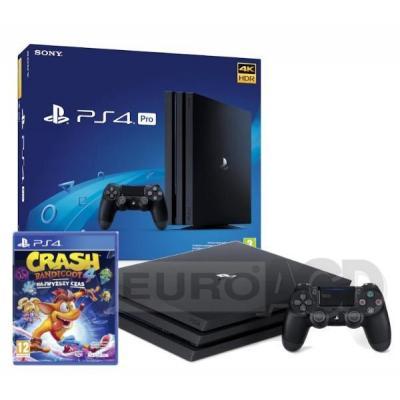 Sony PlayStation 4 Pro 1TB + Crash Bandicoot 4: Najwyższy Czas