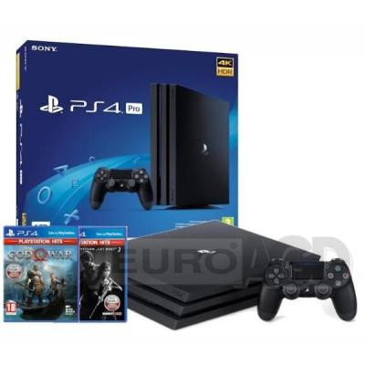 Sony PlayStation 4 Pro 1TB + The Last of Us + God of War