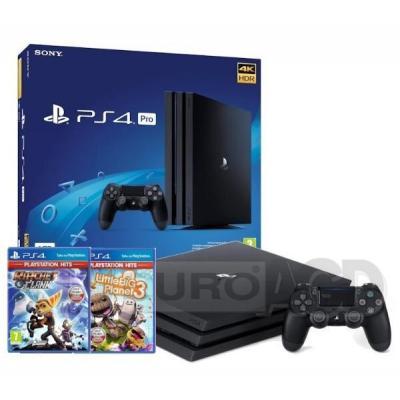Sony PlayStation 4 Pro 1TB + Ratchet & Clank + Little Big Planet 3