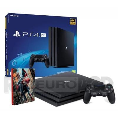 Sony PlayStation 4 Pro 1TB + Marvel's Spider-Man + steelbook