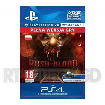Until Dawn: Rush of Blood VR [kod aktywacyjny] PS4